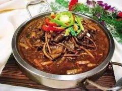 热锅海肠茶树菇