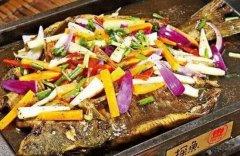黑椒味烤鱼