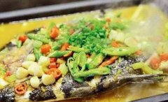双色泡椒味烤鱼