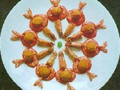海派菜谱三味灯笼虾