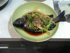 广式清蒸鲈鱼(盲曹)