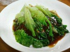 广式蚝油生菜