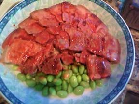 京菜:腐乳蒸肉