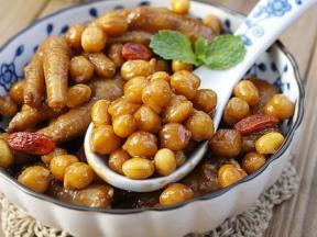 粤式家常菜——双豆焖凤爪