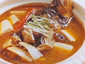 鱼头冻豆腐