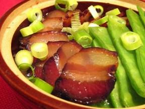 山寨粤式腊肉煲仔糯米饭