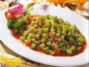 蚬肉四季豆