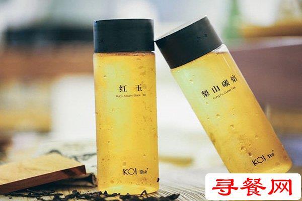 KOI奶茶开店实力怎么样?KOI奶茶加盟有什么优势?